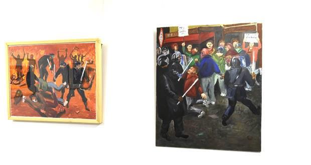 """Photo of A mostra """"Crónica de maio-París 1968"""", do barquense Jesús Díaz, chega a Muros"""