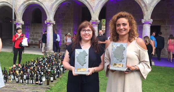 Photo of D'Berna e Ruchel, acios de ouro da D.O. Valdeorras na Cata dos Viños de Galicia