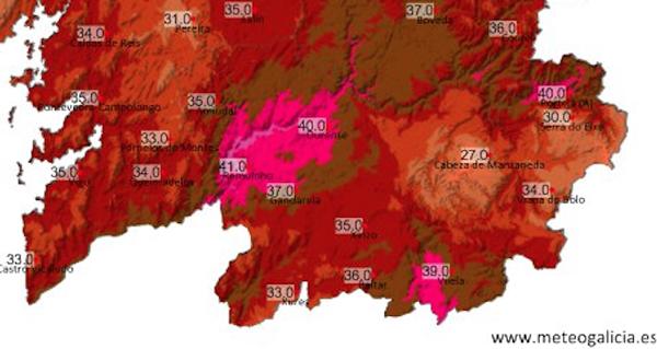 Photo of En Valdeorras acadaranse os 40 graos coa vaga de calor que chegará a Galicia o 2 de agosto