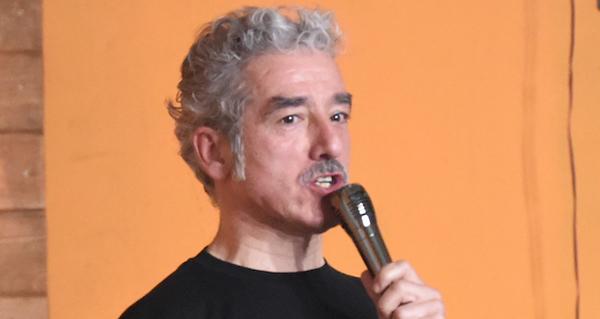Photo of Cita co humor de Sergio Pazos en Trives o 13 de xullo
