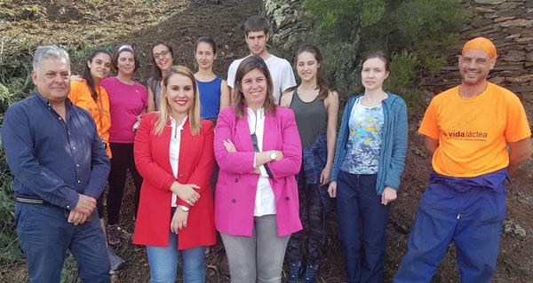 Photo of Campo de traballo internacional para promocionar o Xeoparque de Quiroga