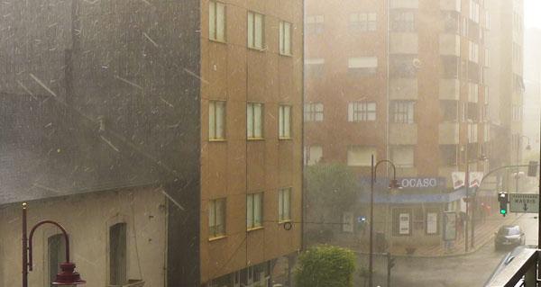 Photo of Aviso amarelo por chuvias e tormentas na provincia de Ourense