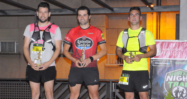 Photo of Felipe Castro imponse nos 21km do III Night Trail Quiroga