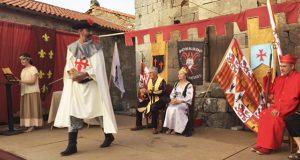 Sobrado (P. de Trives) vístese de gala na súa VII Festa Medieval