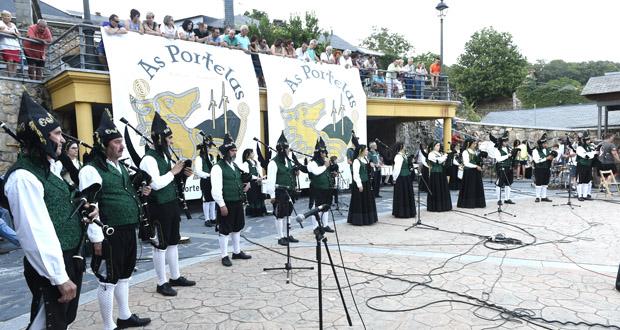 Photo of Cartel de luxo no XIV Festival Folk & Rock nas Portelas, en Lubián