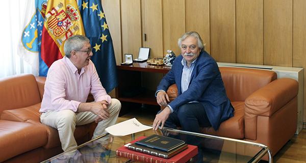 Photo of O subdelegado do Goberno en Ourense reúnese co alcalde de Castrelo do Val para falar das obras do AVE