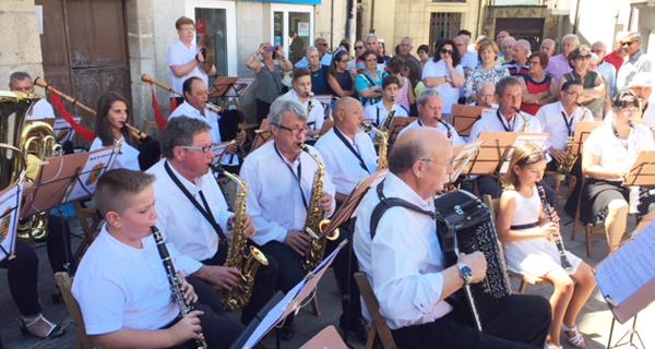 Photo of Primeiro concerto da Banda de música Candea nas festas de Viana