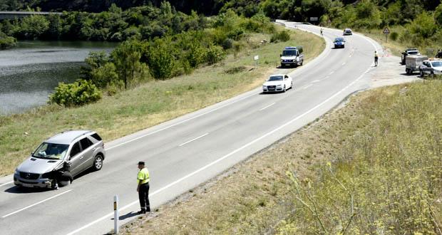 Photo of Falece un motorista nun accidente na N-120 en Larouco