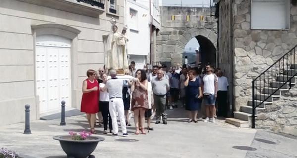 Photo of Día grande das Festas da Virxe das Neves, en Manzaneda