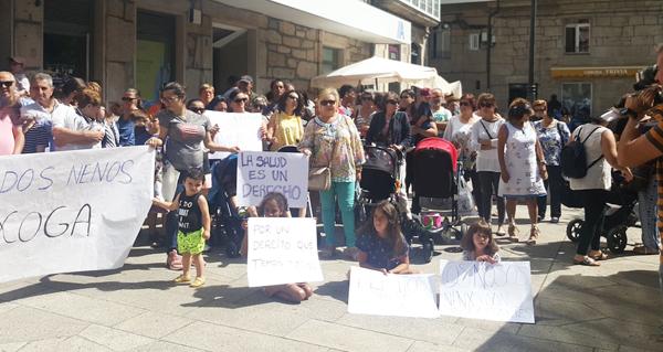 Photo of A comarca de Terras de Trives volve saír á rúa para defender o servizo de pediatría