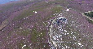 Manzaneda aposta pola valorización do campamento romano máis alto de Galicia