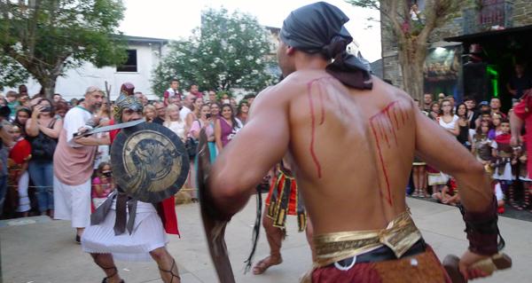 Photo of Vitoria castrexa na loita de gladiadores en Qui-Roma
