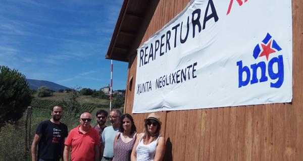 """Photo of Noa Presas considera """"unha neglixencia"""" que non comezaran as obras na base de Vilanova"""