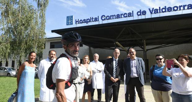 Photo of Víctor Loira completa no Barco as etapas ourensás do seu reto para dar visibilidade ás enfermidades inflamatorias intestinais