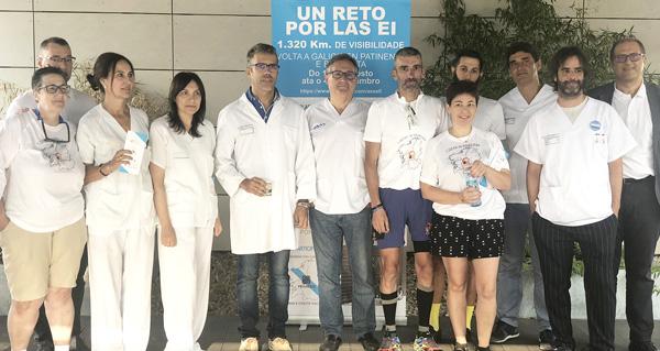 """Photo of O reto """"polas enfermidades inflamatorias intestinais"""", que impulsa Víctor Loira, chegará ao Barco o 23 de agosto"""