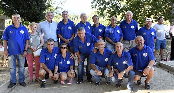 Photo of 21 xogadores no I campionato de petanca Festas do Cristo celebrado o 14 de setembro