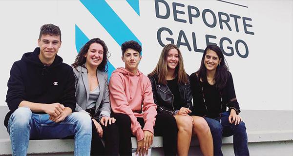 Photo of A karateka barquense Lucía Herrero recibe unha das becas do Centro Galego de Tecnificación Deportiva