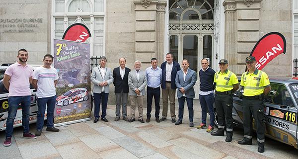 Photo of O 7º Rallye Ourense-Ribeira Sacra contará con 132 participantes