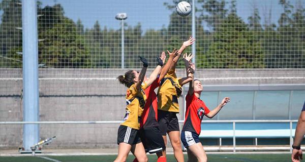Photo of O equipo feminino do Auriense FG, no torneo internacional de fútbol gaélico celebrado en Santiago de Compostela