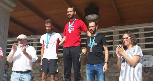 Photo of O valdeorrés Alejo Ares, imbatible no campionato galego de 5 km