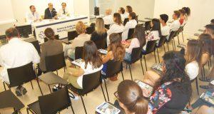 Acto de benvida en Ourense aos alumnos de sexto curso de Medicina