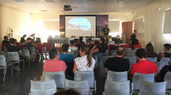 Photo of A segunda xornada de AstroTrevinca, en fotos
