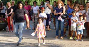 "Medio cento de participantes no casting infantil para a pasarela ""O Barco de Moda"""