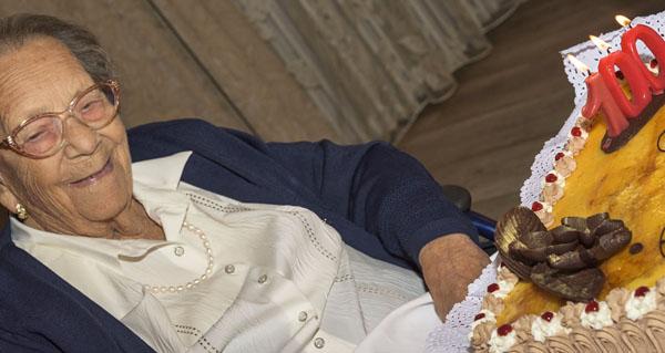 Photo of Gloria Fernández, natural de Viloira (O Barco), celebra o seu centenario