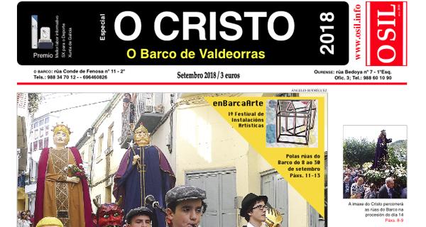 """Photo of O """"Especial Festas do Cristo do Barco"""" do Periódico O Sil xa está na rúa"""