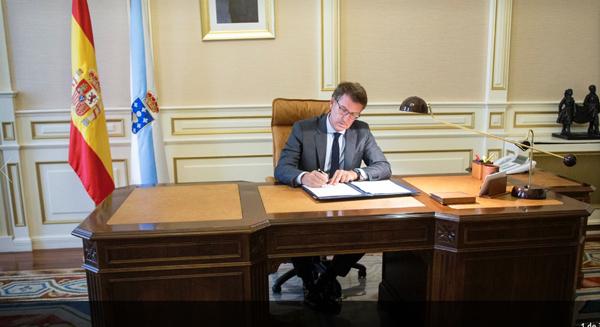 Photo of O presidente da Xunta acomete unha renovación no goberno galego