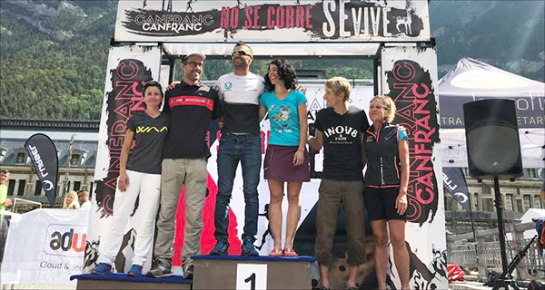 Photo of A ourensá Esther Hernández sube ao podio na Ultra 100 km da Canfranc-Canfranc (Huesca)