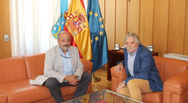 Photo of Reunión do subdelegado do Goberno en Ourense co presidente da Confederación H. Miño-Sil