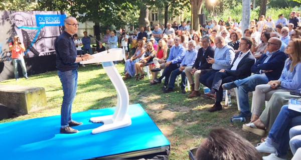 Photo of Acto de presentación de Jesús Vázquez como candidato á alcaldía de Ourense