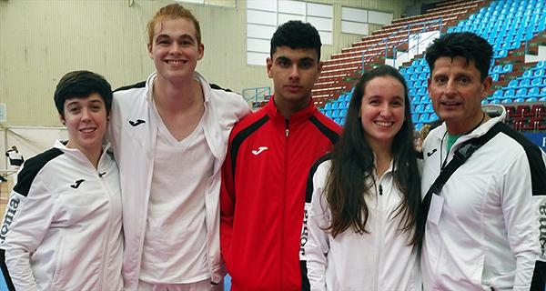 Photo of Tres membros do club River Stone, seleccionados para o campionato de España de karate