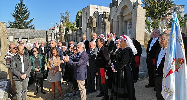 Photo of A cidade de Ourense homenaxea ao mestre Vide no 125 aniversario do seu nacemento