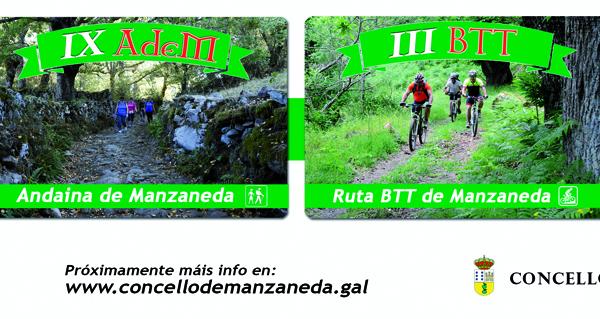 Photo of A IX Andaina de Manzaneda, prevista para o 4 de novembro, aúna sendeirismo, trail e BTT