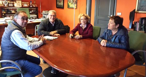 Photo of AEVA reúnese co alcalde do Barco para falar sobre infraestruturas