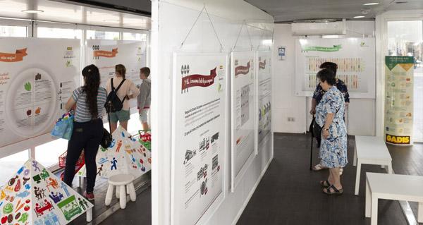 """Photo of A mostra itinerante """"Prevención da obesidade. Alixeira a túa vida"""" chega ao Barco"""