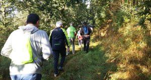 Andaina polas terras de Quiroga da man da Asociación de Amigos do Camiño por Valdeorras