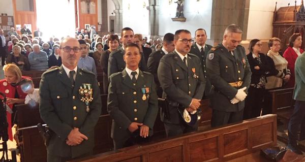 Photo of A Garda Civil da Rúa celebra a Virxe do Pilar