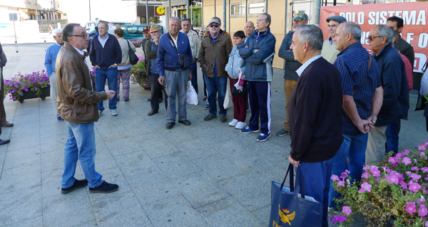 """Photo of Concentración no Barco en defensa do """"sistema público de pensións"""""""