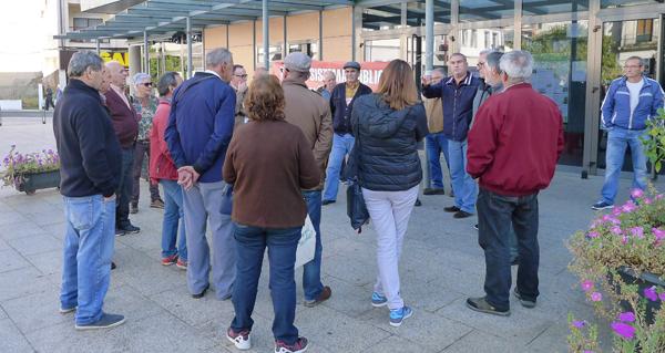 Photo of Mantense a concentración en defensa das pensións do 29 de outubro
