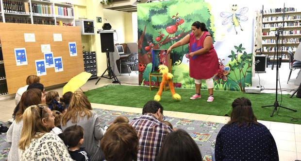 Photo of O Día da Biblioteca celébrase no Barco cun contacontos para bebés