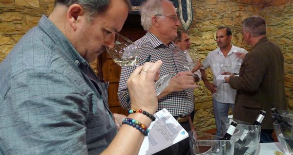 Photo of Xornalistas especializados en viño de diferentes partes do mundo visitan Valdeorras