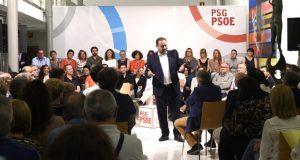 Encontro coa cidadanía en Ourense do ministro de Fomento e do secretario xeral dos socialistas,José Luis Ábalos