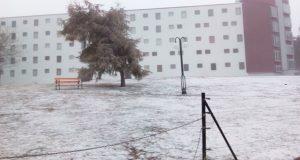 Primeira nevada do outono nas zonas de montaña ourensás