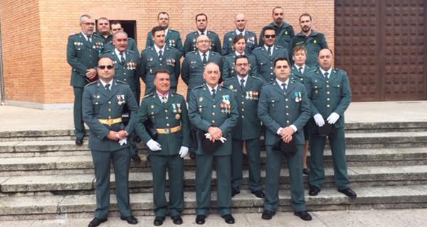 Photo of A Garda Civil do Barco festexa o día da Virxe do Pilar