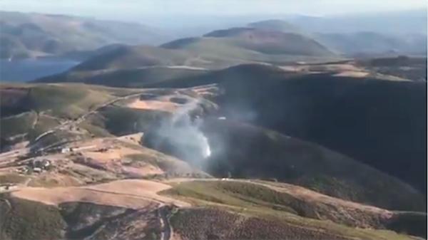 Photo of Novo incendio na Gudiña, esta vez en Pentes