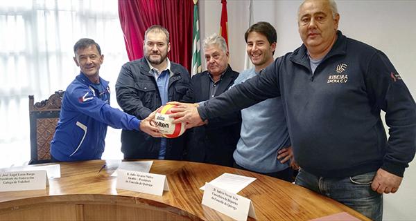 Photo of Actividades de tecnificación, supervisión e control de voleibol, en Quiroga