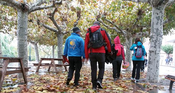 Photo of Os peregrinos do Bierzo e Valdeorras entran en Galicia na III etapa do Camiño de Inverno